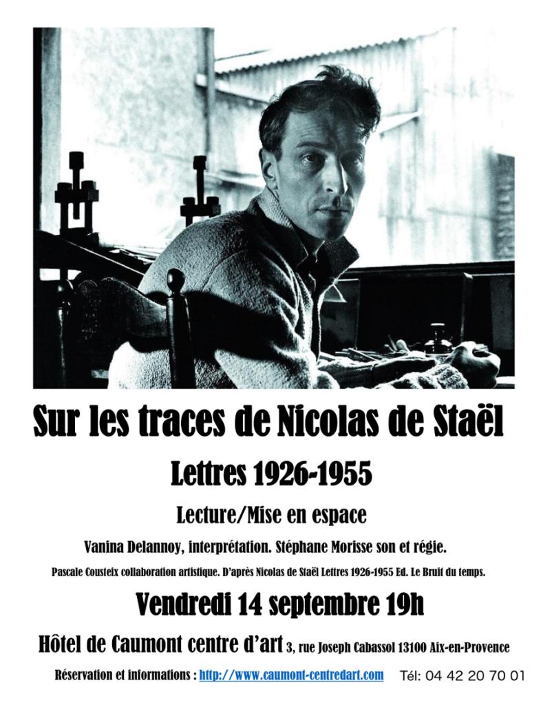 Sur les traces de Nicolas de Staël 14 septembre